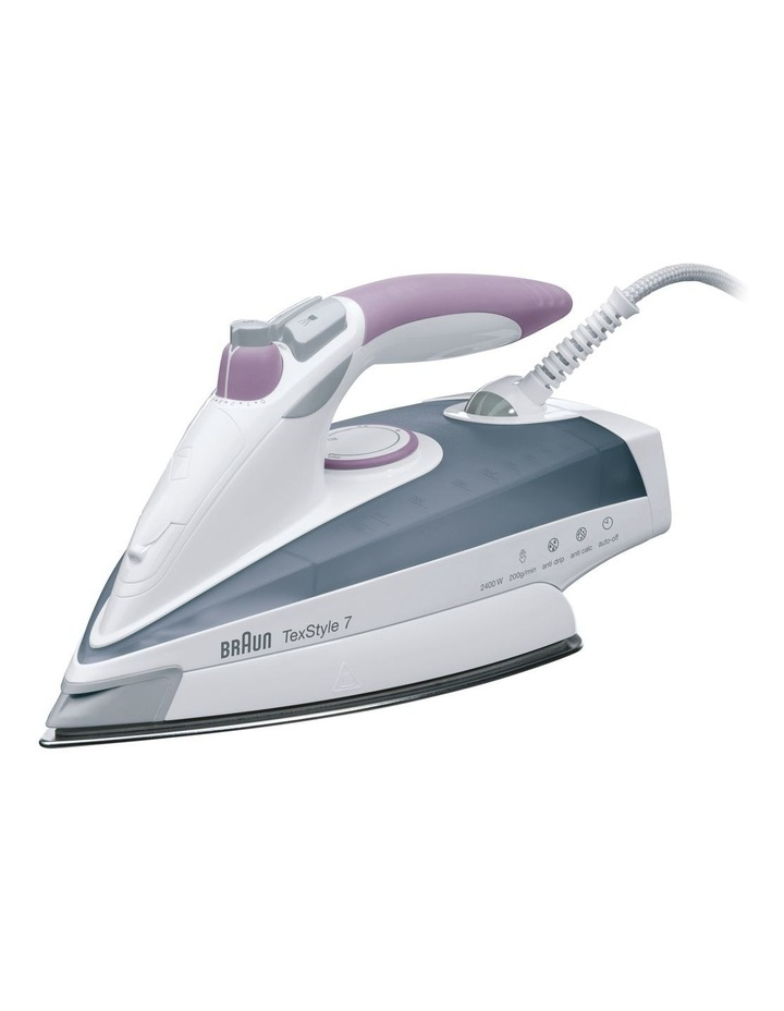 TexStyle 7 Steam Iron Pink TS755A image 1