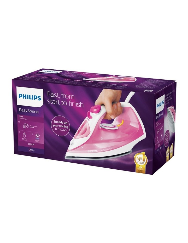 EasySpeed Plus Steam Iron in Pink GC2142/49 image 3