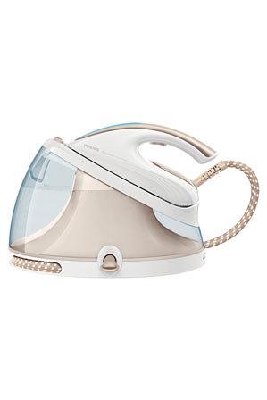 Philips - GC8651 Perfect Care Aqua Silence Ironing System: White