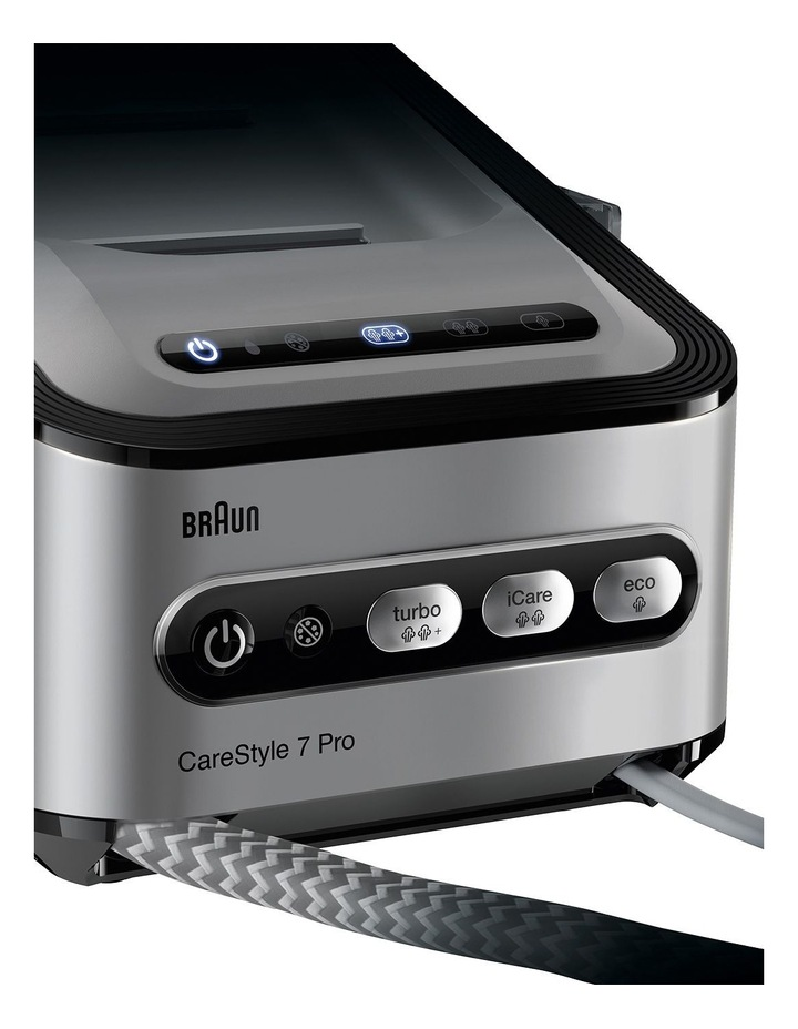 Carestyle 7 Steam Generator in Iron Black - IS7156BK image 3