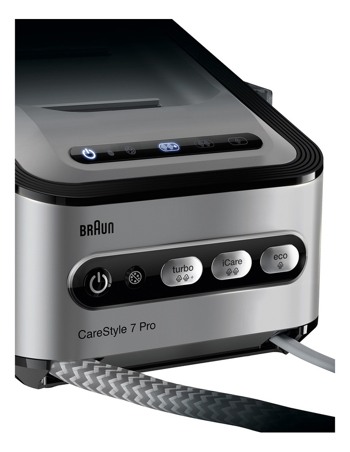 Carestyle 7 Steam Generator in Iron Black - IS7156BK image 4