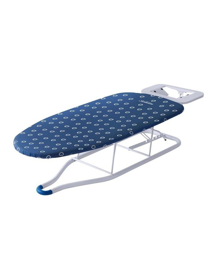 HiLo Adjustable Tabletop Ironing Board White/Blue SB1300 image 1