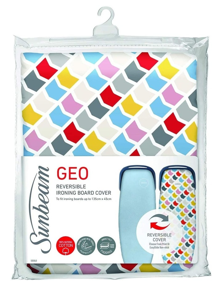 Reversible Ironing Board Cover with Geo Print SB0840 image 1