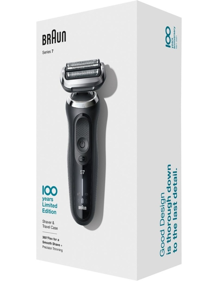 Series 7 Electric Shaver Design Edition with Black Travel Case Black MBS7 image 1