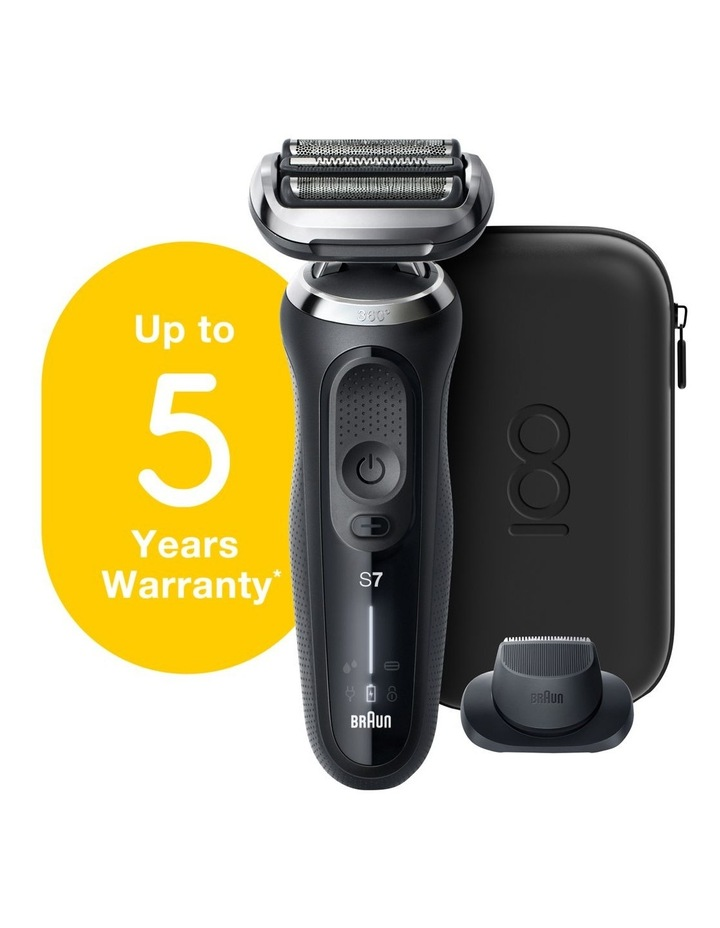 Series 7 Electric Shaver Design Edition with Black Travel Case Black MBS7 image 2