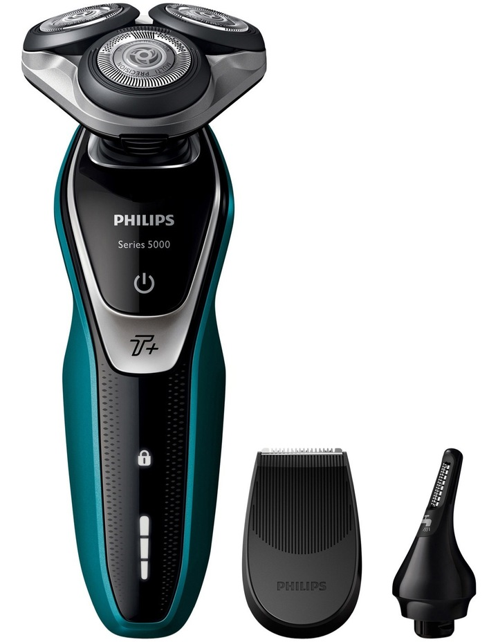 Series 5000 MultiPrecision shaver with Nose Trimmer S5550/44 image 1