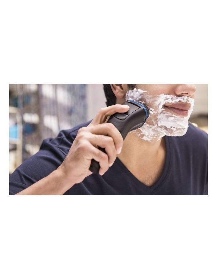 Shaver 3100 Wet or Dry electric shaver Black S3122/51 image 3