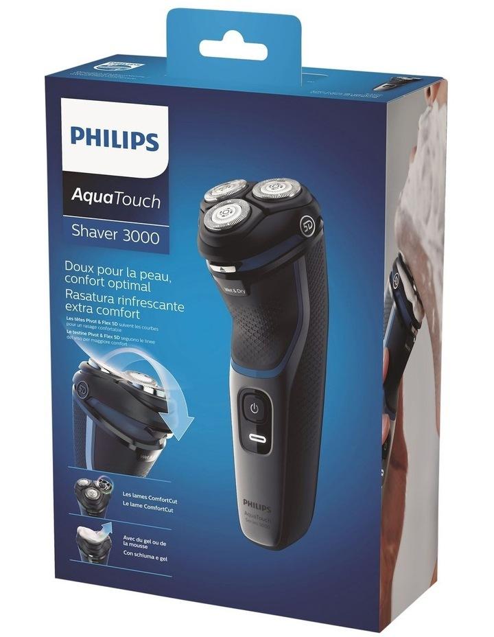 Shaver 3100 Wet or Dry electric shaver Black S3122/51 image 6