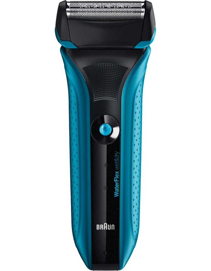 Waterflex Male Shaver Blue / Black WF2S image 1