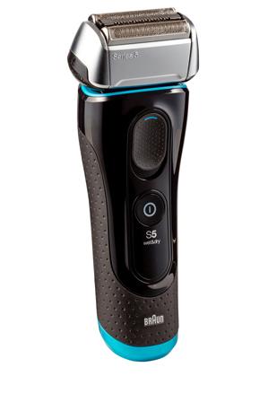Braun - Series 5 Mens Electric Foil Shaver with Clean & Renew unit 5190cc