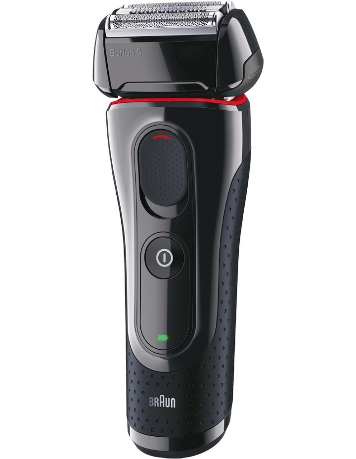 Series 5 Foil Shaver Black/Red 5030s image 1