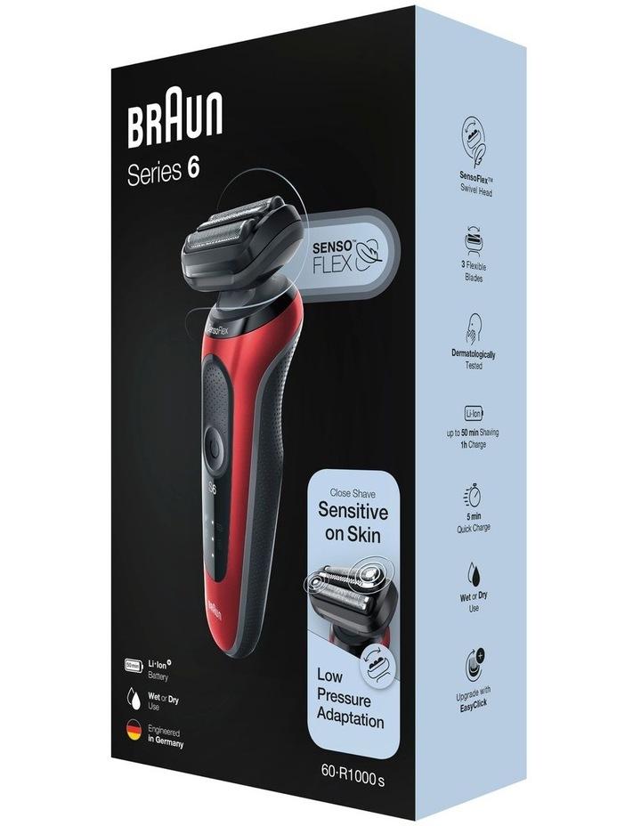 Series 6 Shaver Black 60-R1000S image 6