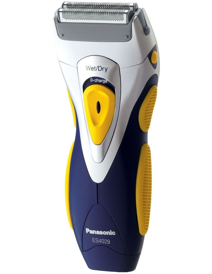 2-Blade Rechargeable Wet & Dry Shaver Silver ES4029 image 1