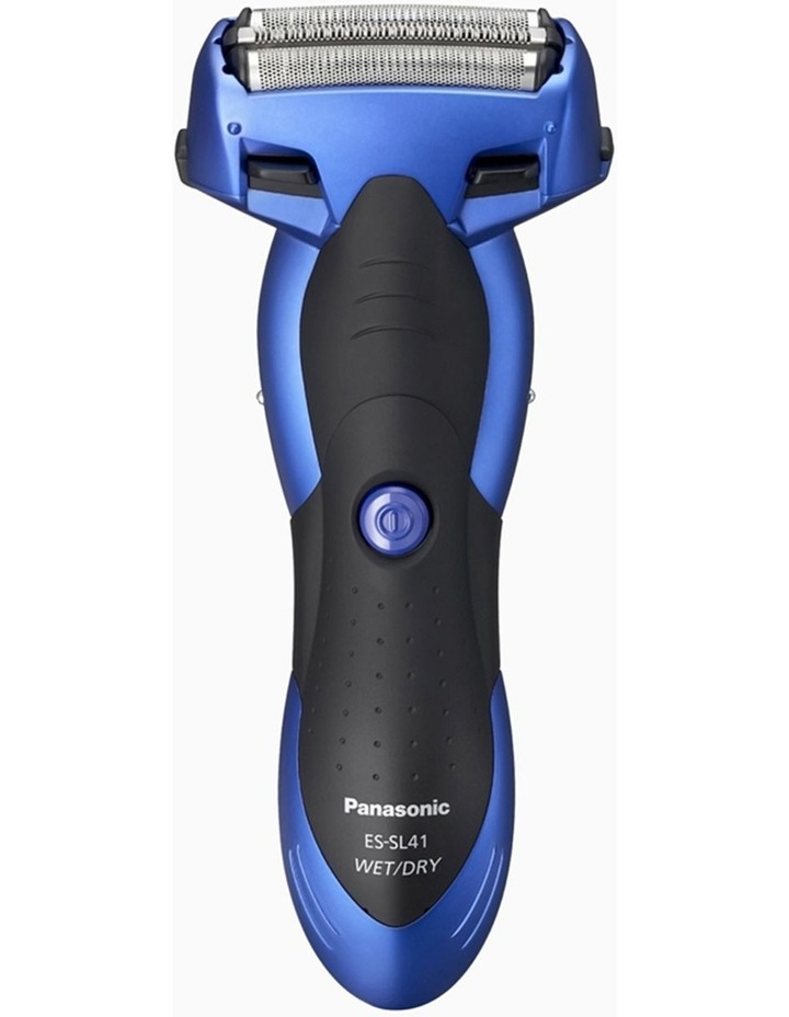 3-Blade Rechargeable Wet & Dry Shaver Blue ES-SL41-A541 image 1
