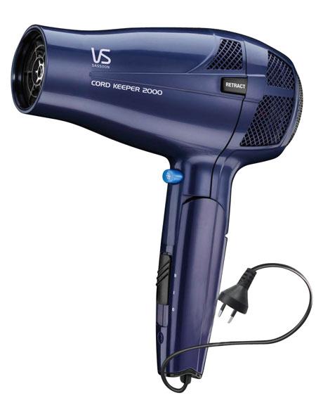 VS289A Cord Keeper 2000 Hair Dryer: Purple image 1