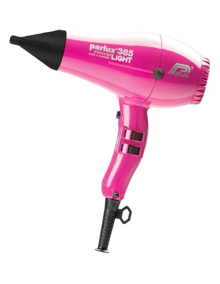 385 Power Light Ceramic & Ionic Hair Dryer: Fuschia 149507 image 1