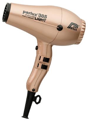 Parlux - 385 Power Light Ceramic & Ionic Hair Dryer: Light Gold 149516