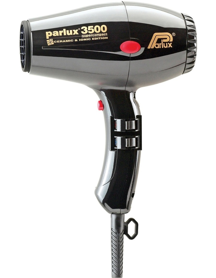 3500 Super Compact Ceramic & Ionic Hair Dryer in Black 149511 image 1