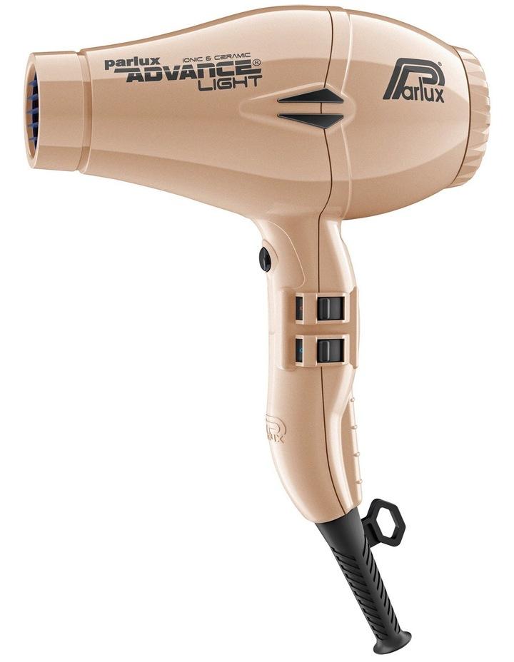 Advance Light Ceramic & Ionic hair dryer: Light Gold 149526 image 1