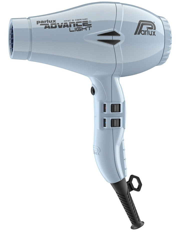 Advance Light Ionic & Ceramic hair dryer: Ice Blue 150093 image 1