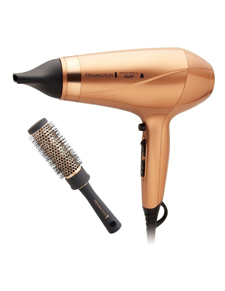 Keratin & Argan Oil Nourish Hair Dryer Gold AC8820AU image 1