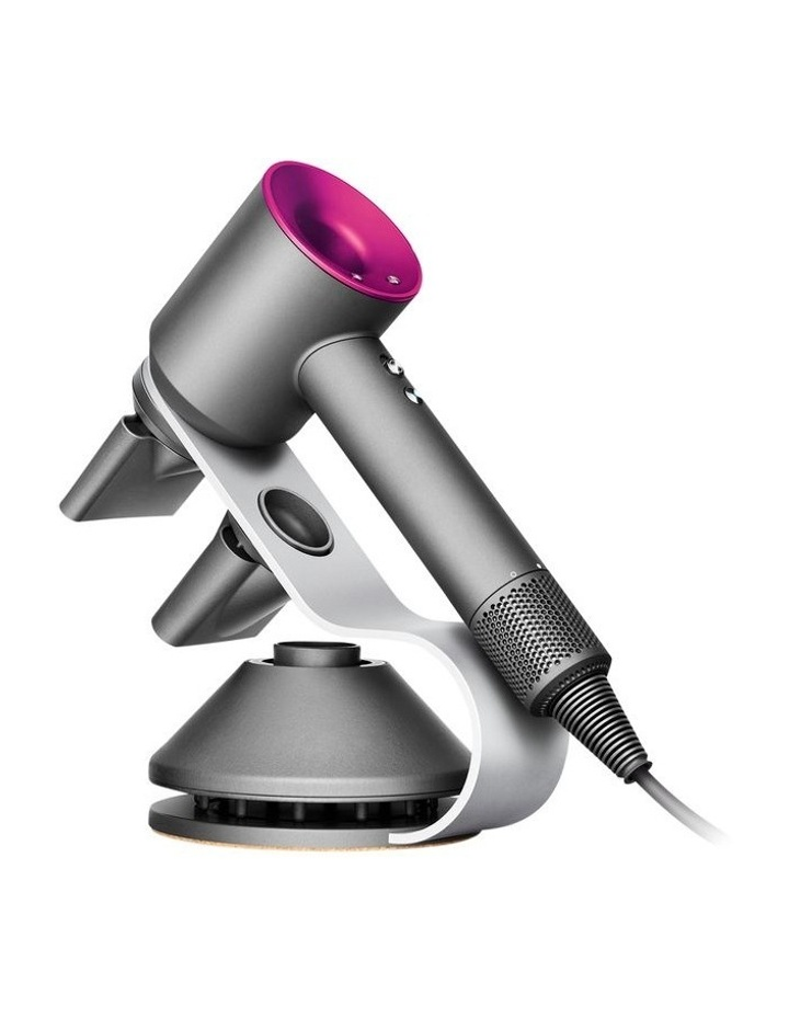 Supersonic Hair Dryer With Display Stand Iron/Fuchsia 323948-01 image 1