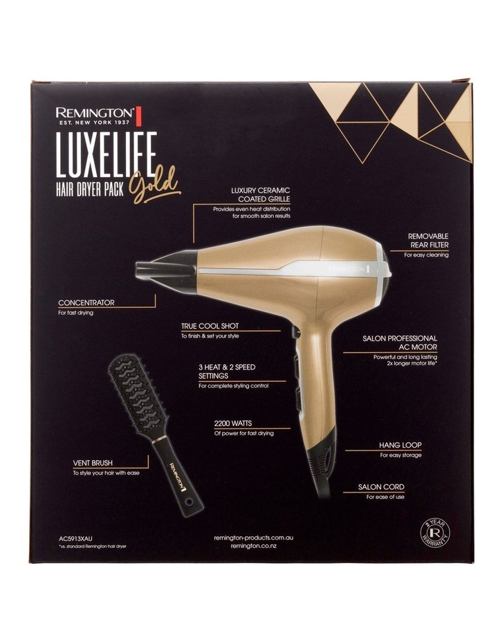Luxelife Dryer Pack Gold AC5913XAU image 4