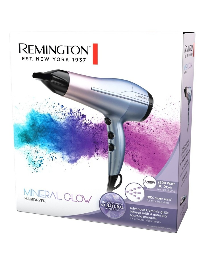 Mineral Glow Hair Dryer Purple/Pink D5408AU image 6