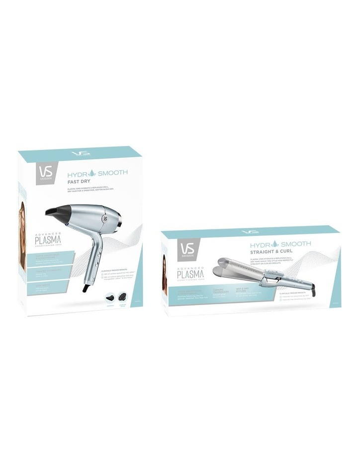 Hydro Smooth Fast Dry Hair Dryer Blue/Silver VSD5573A image 7