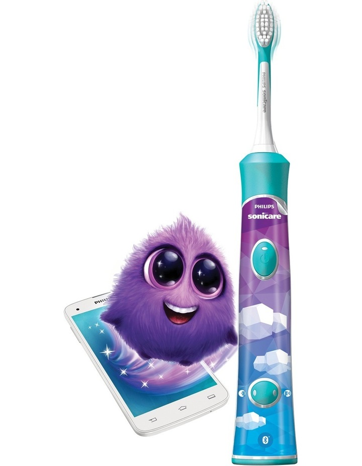 Sonicare For Kids Toothbrush Teal Blue HX6321/03 image 4