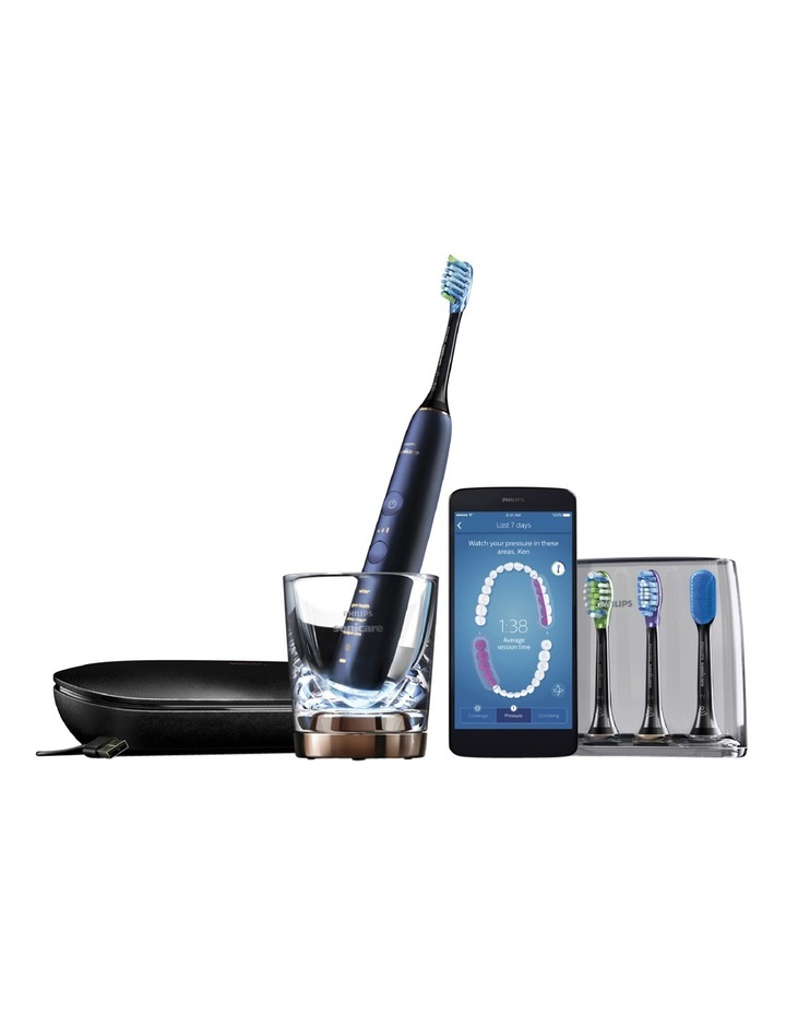 Sonicare DiamondClean Connected Electric Toothbrush: Luna Blue HX9954/56 image 2