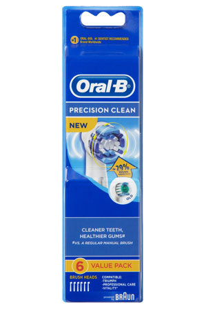 Oral-B - EB20-6 Precision Clean 6 Pack Brushheads