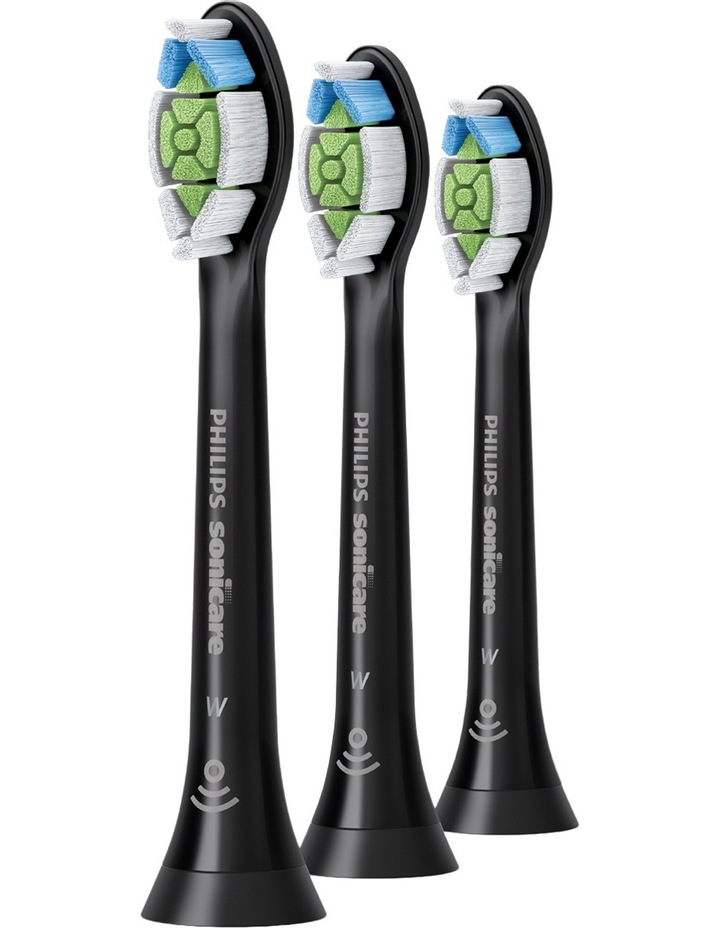 Sonicare 3pk Optimal White Brushheads Black HX6063/96 image 1