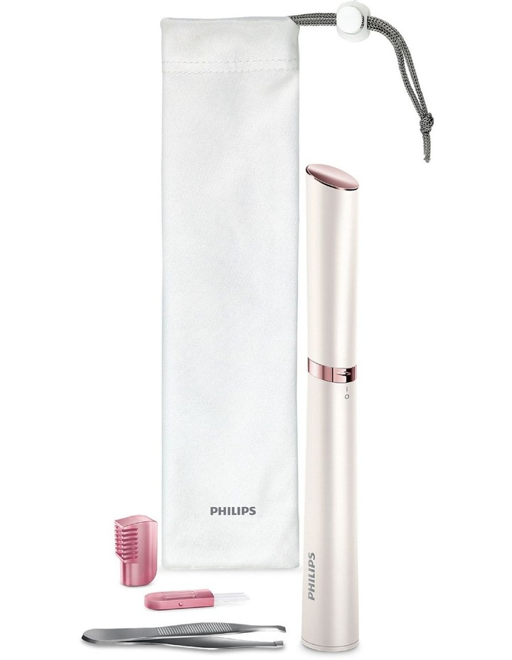 Touch-Up Pen Body & Face Trimmer White/Pink HP6393/00 image 5