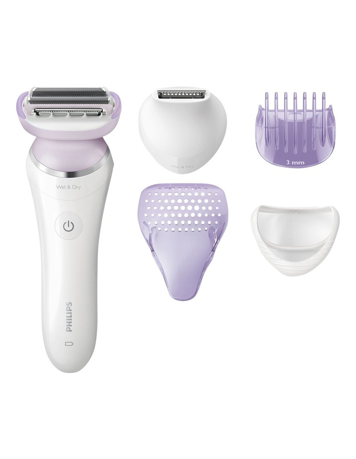 SatinShave Prestige Wet & Dry LadyShave: Satin Purple BRL170 image 1