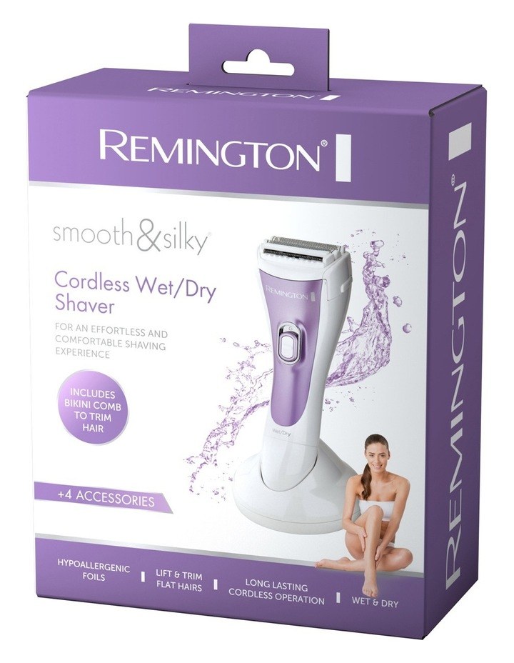 Smooth & Silky Cordless Wet/Dry ladies shaver WDF4829AU image 3