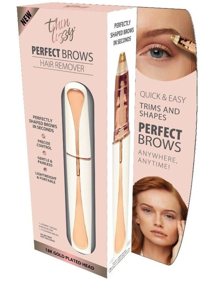 Perfect Brow Hair Remover White/Gold TLRPB image 1
