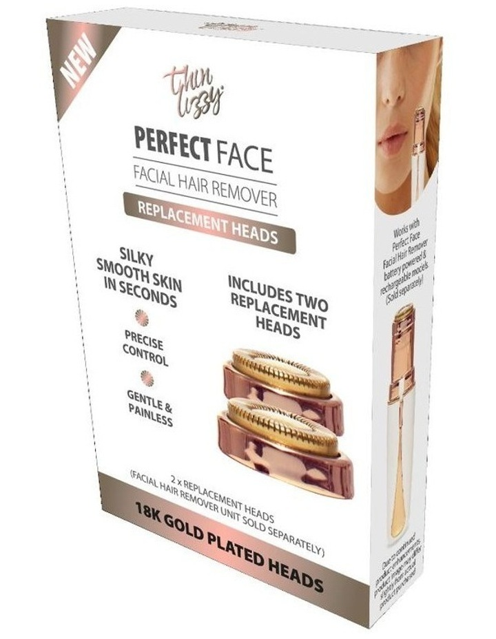 Perfect Face Replacement Heads 2pk White TLRPFRH image 1