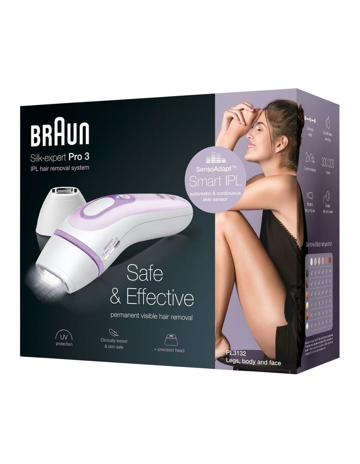 Expert Pro 3 IPL Hair Removal Device White/Lavender PL3132 image 5