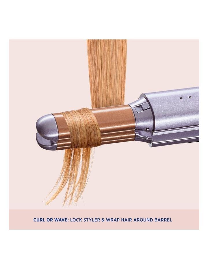 Unbound Cordless 2-in-1 Mini Hair Styler Metallic Purple VSS300UA image 5