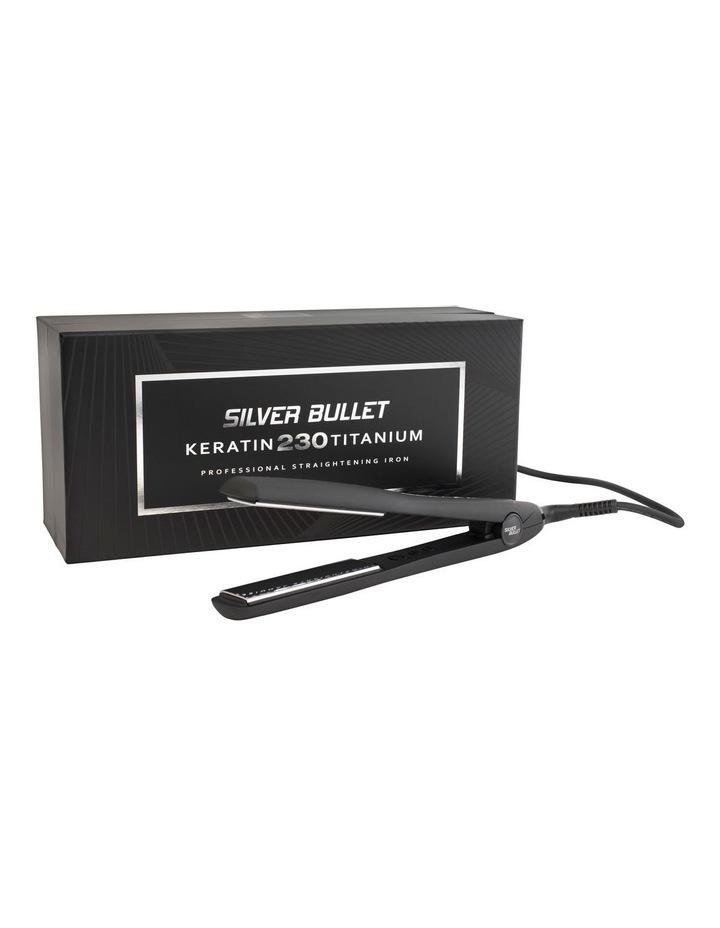 230 Straightener Titanium 25mm - Black image 2