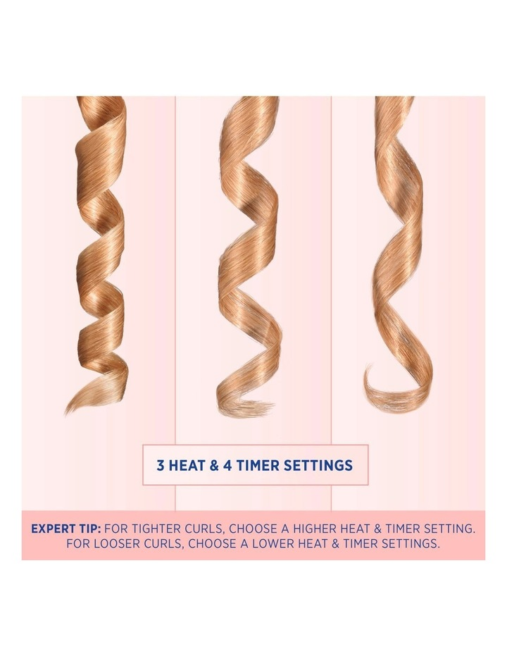 Unbound Cordless Hair Curler Metallic Purple VSC510UA image 6