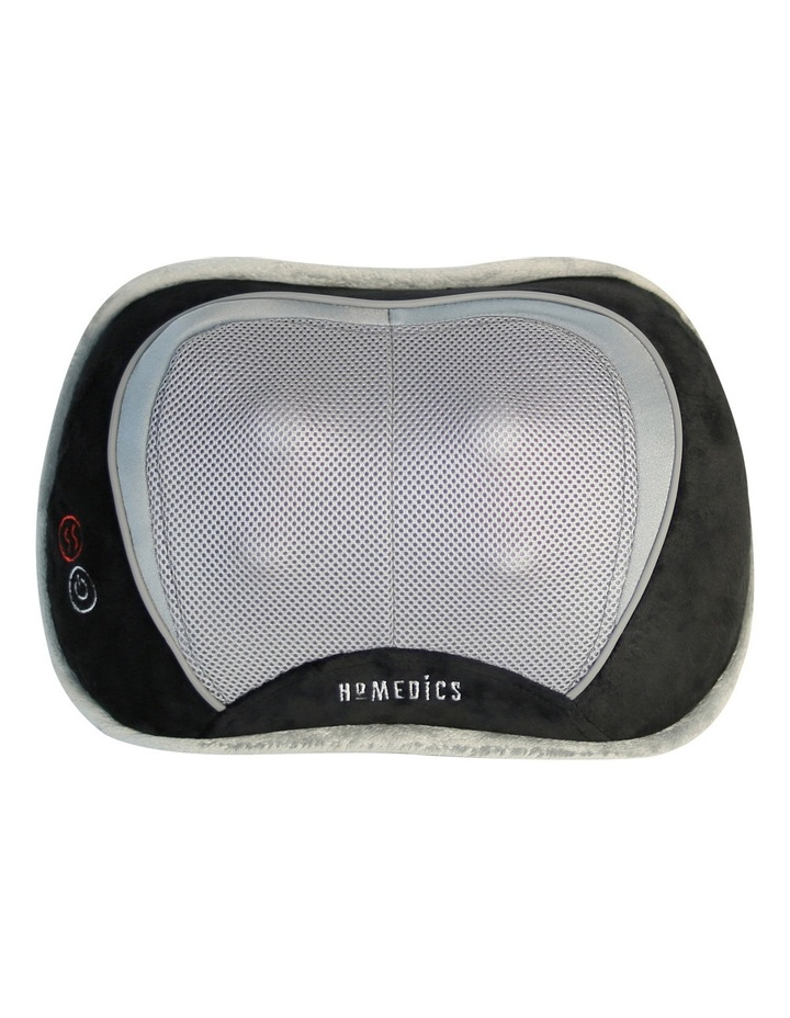 Shiatsu Select massage pillow with heat: black SP100HBKAU image 1