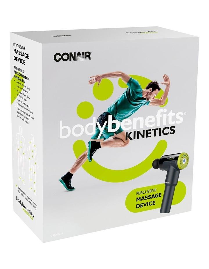 Body Benefits Kinetics Percussive Massage Device Black CBKM001A image 4