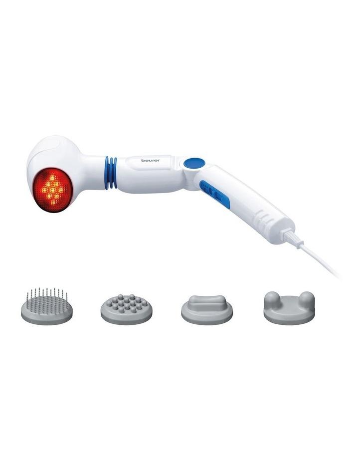 Rotate & Bend: Infrared Handheld Massager White MG40 image 1