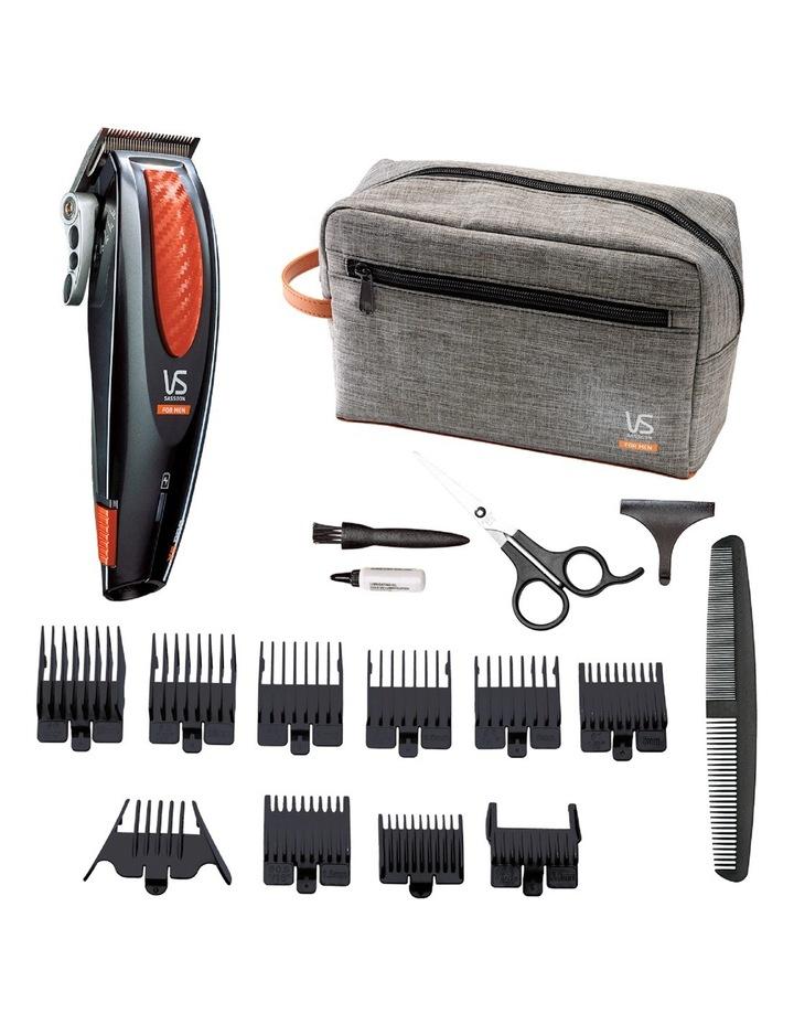 X6 Pro Hair Clipper, Grey & Orange: VSM1100A image 2