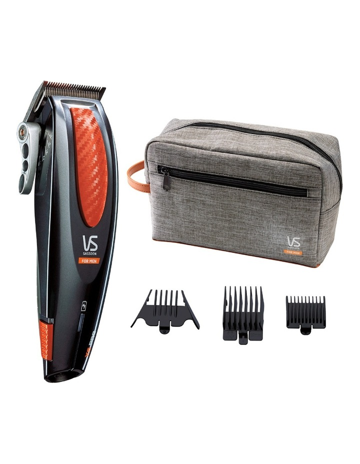 X6 Pro Hair Clipper, Grey & Orange: VSM1100A image 3