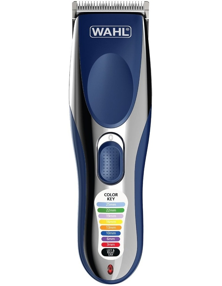 Color Pro Cordless Clipper Chrome/Blue WA9249-1217 image 1