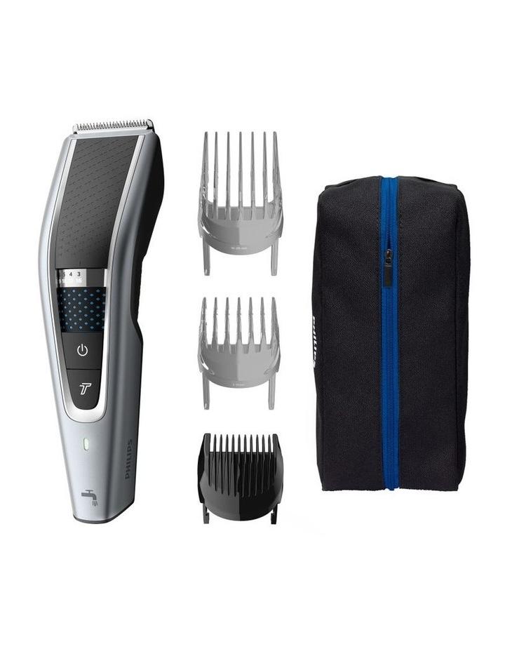 Series 5000 Turbo Hair Clipper Silver/Black HC5630/15 image 1
