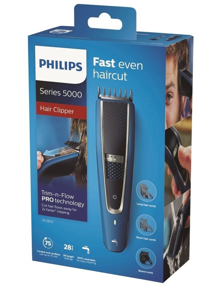 Philips Series 5000 Hair Clipper HC5612/15 image 5